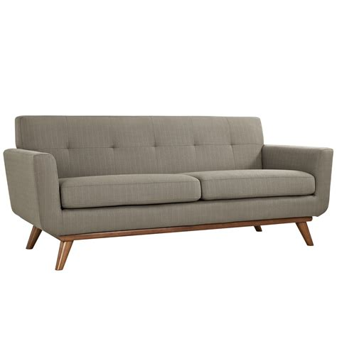 sofa and armchair set modway engage sofa loveseat and armchair set of 3 in