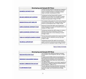 Disaster Recovery Business Continuity Plan Template Kit - Simple business continuity plan template
