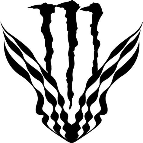 Monster Energy Aufkleber Chrom by Sticker Et Autocollant Monster Energy Damier