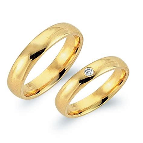 Eheringe 750er Gelbgold by Eheringe 750er Gelbgold Mit Brillant Wr0562 7s