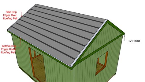 How To Lay Roofing Felt On A Shed by Large Shed Roof Plans Free Outdoor Plans Diy Shed