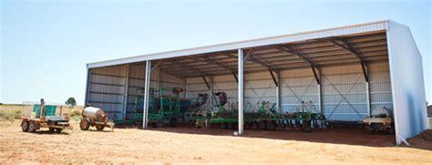 Farm Sheds Wa by Farm Sheds Wa Hay Machinery Storage Sheds Aussie Sheds