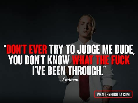 Eminem Quotes 66 Greatest Eminem Quotes Lyrics Of All Time Wealthy