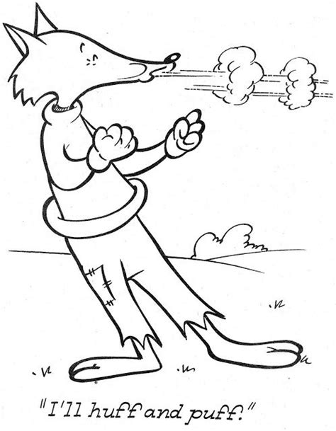 preschool wolf coloring pages 17 best images about thema de drie biggetjes on pinterest