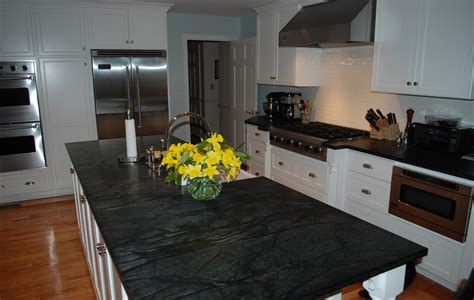 How To Clean Soapstone Countertops Beautiful Hudson Ash Counters In The Kitchen By Saratoga
