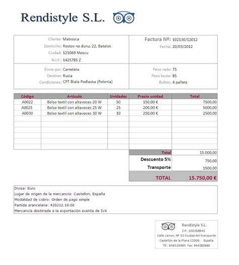 Gw 67 L rendistyle s l factura