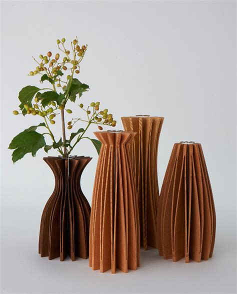 wood vases by seth rolland wood vase artful home