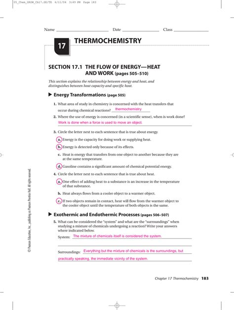 11 1 describing chemical reactions section review answers prentice hall world history worksheets rringband