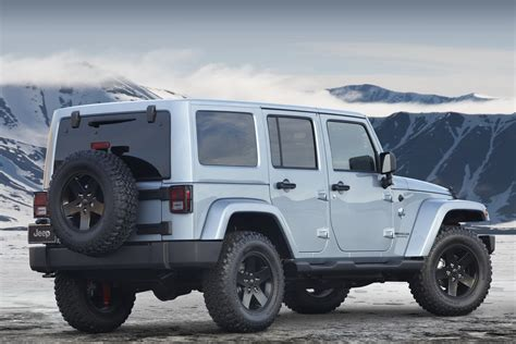 Jeep Wrangler Unlimited Edition Jeep Wrangler Arctic Special Edition Photos And Details