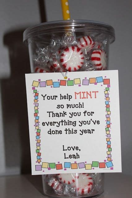 cute gift idea for parent volunteer i d use york