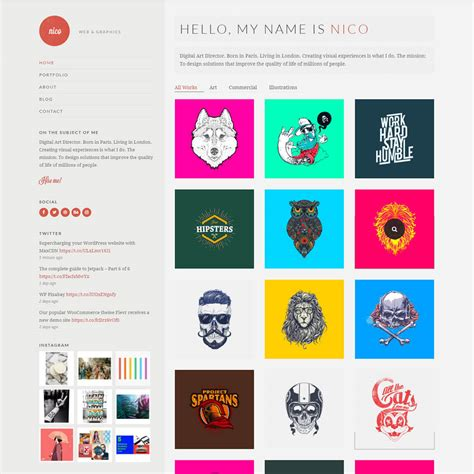 15 Best Wordpress Portfolio Themes And Templates 2018 Themes And Templates