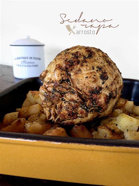 sedano rapa ricette al forno sedano rapa arrosto ricette vegane e vegetariane