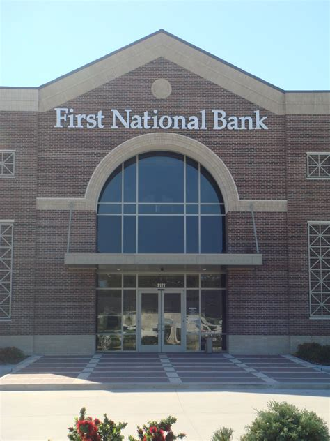 national bank 1st national bank of