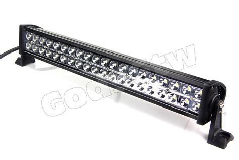 Led Light Bar Ebay 24 Quot 120w Led Light Bar Road Work 10000lm Atv Utv Jeep Suv Truck 4wd Car Hid Ebay