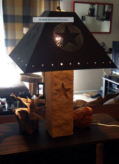 texas star lamps bring  wild west   living