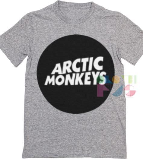 T Shirt Band Arctic Monkeys arctic monkeys logo band t shirt unisex size s 3xl