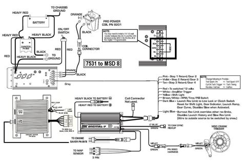msd ballast wiring diagram with capacitor painless wiring