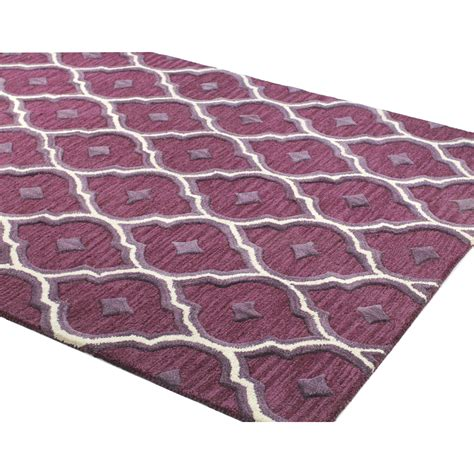 Lilac Area Rugs Alcott Hill Norgate Tufted Lilac Area Rug Reviews Wayfair