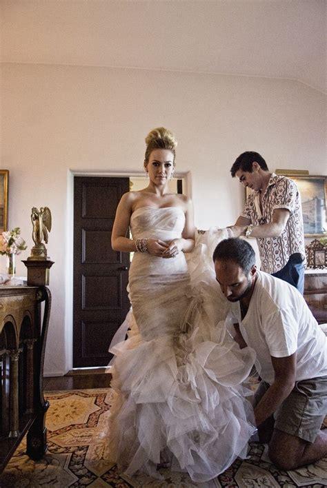 Wedding Bells For Hilary by Hilary Duff Wedding Dress Photo