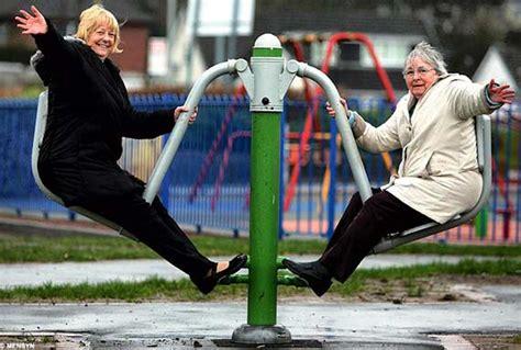Backyard For Seniors Playgrounds For Seniors Are Improve Health Balance