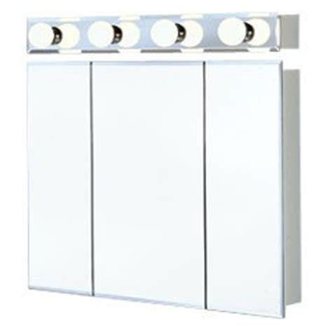 medicine cabinets with mirrors and lights nutone ho44890