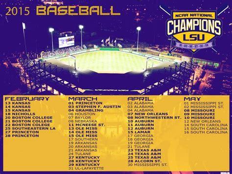 printable lsu schedule 2015 lsu baseball wallpaper 2015 wallpapersafari