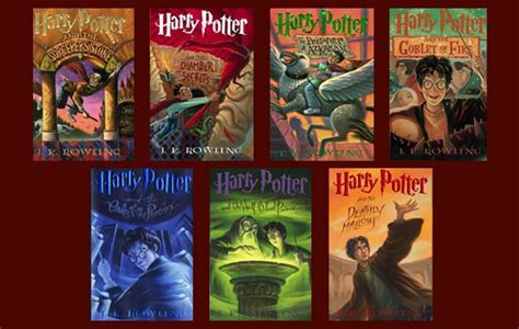 the of harry potter books 10 most popular book series basis roar