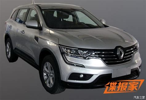 renault suv koleos 2017 renault koleos suv this is it carscoops