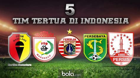 kisah  klub sepak bola tertua  indonesia indonesia