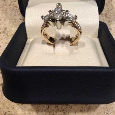 co platinum and engagement ring 8000
