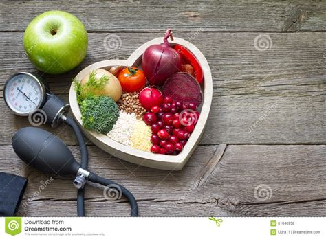 cooking board healthy food in and cholesterol diet concept stock photo image 61840938