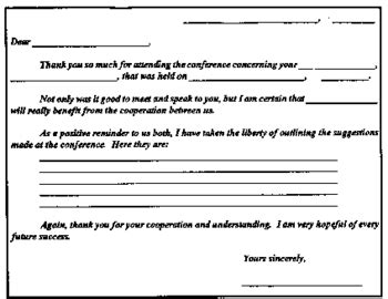 thank you letter to parents after conferences parent conference thank you note by mrs tpt