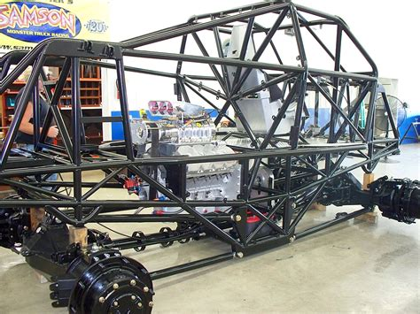 mega truck chassis a samson truck chassis debuts