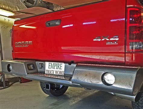 rear bumper lights for trucks buckstop bumpers truck bumpers autos post