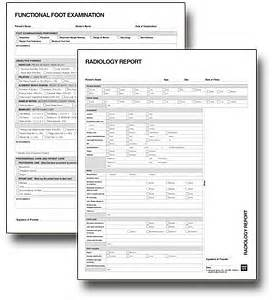 Chiropractic X Ray Report Template Free Forms The Paperwork Project