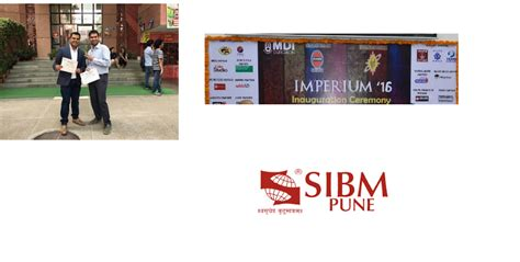Mdi Gurgaon Executive Mba by Sibm Pune Takes The Second Place At Imperium 2016