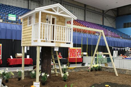 made to order playhouse from casco bay home improvements