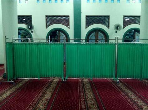 partisi masjid al husna pusat kebutuhan masjid