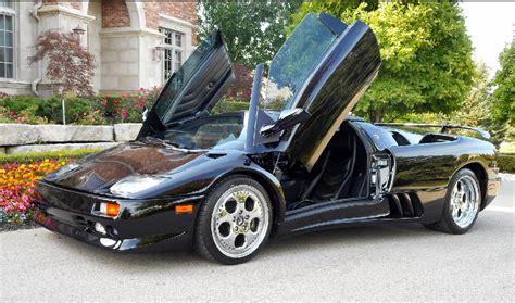 How Many Lamborghini Diablos Were Made 187 1999 Lamborghini Diablo Vt Roadster Sold