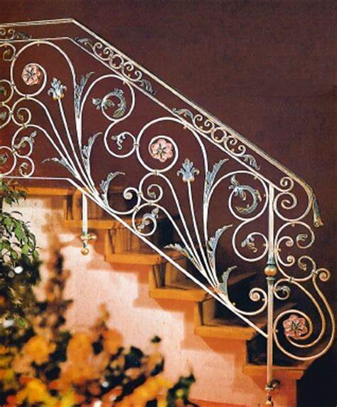 railing tangga klasik tempa 000   Pagar Kanopi Rumah