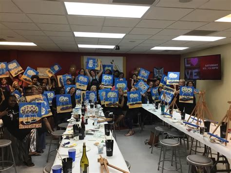 Painting With A Twist Opens In Dunwoody The Aha Connection