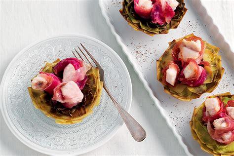 fiori di carciofo ricetta fiori di carciofo con rana pescatrice la cucina
