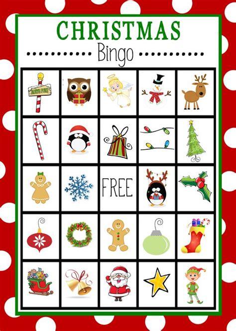 free printable christmas action cards christmas bingo christmas bingo cards and free printable