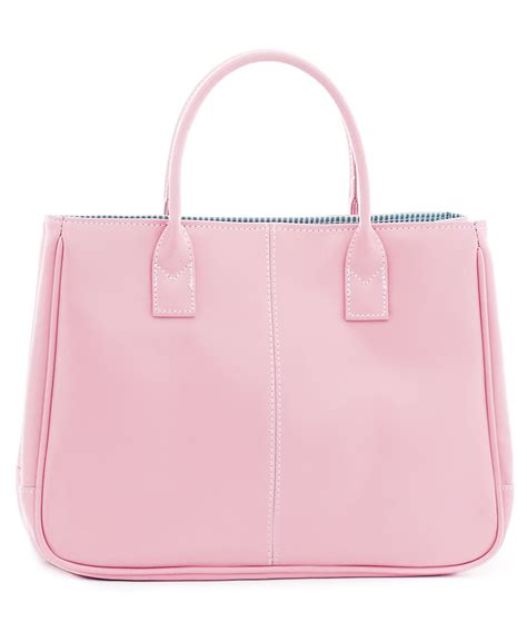 cannci light pink leather square tote bag designer bags
