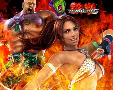 game wallpaper tekken 5 advance