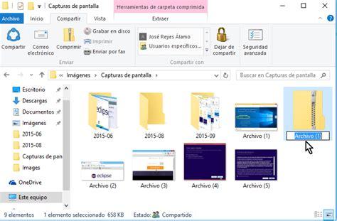 comprimir imágenes windows 10 c 243 mo comprimir archivos en windows 10 f 225 cilmente tecnicomo