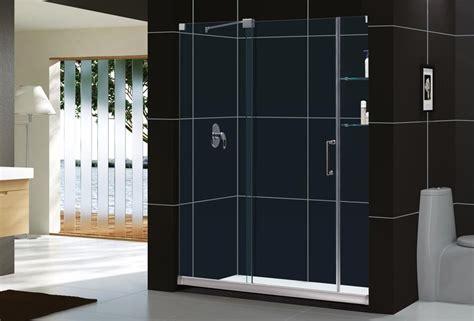 Mirage Frameless Sliding Shower Door Dreamline Bathroom Mirage Shower Doors