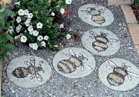 Decorative Stepping Stones Home Depot garden stepping stone design and ideas inspirationseek com