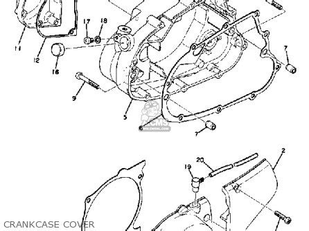 1972 yamaha enduro wiring diagram 1972 picture