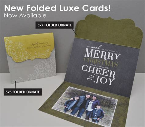folded luxe cards templates mpixpro 187 new folded luxe cards